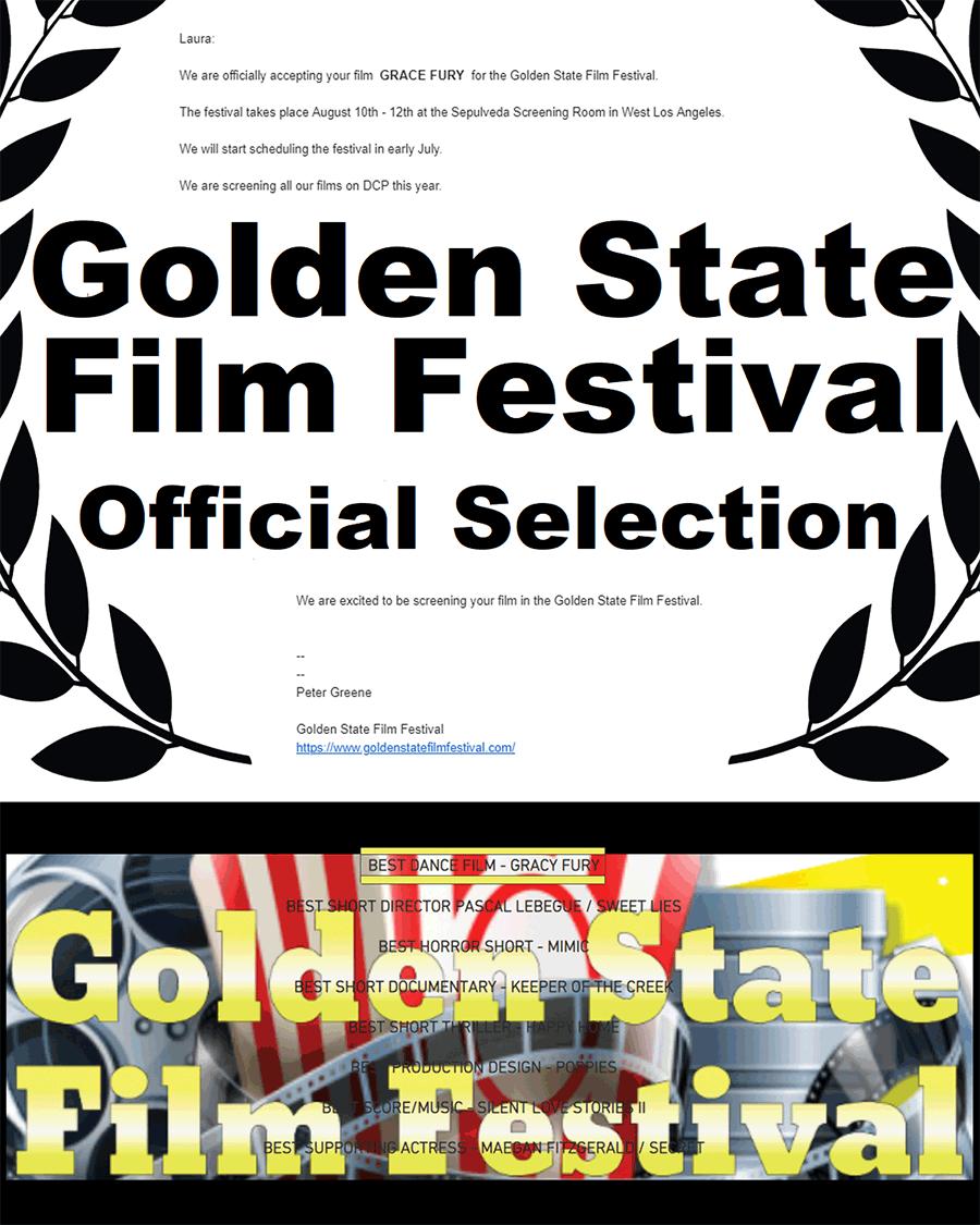 Winner - Golden State Film Festival Collage - L.A.