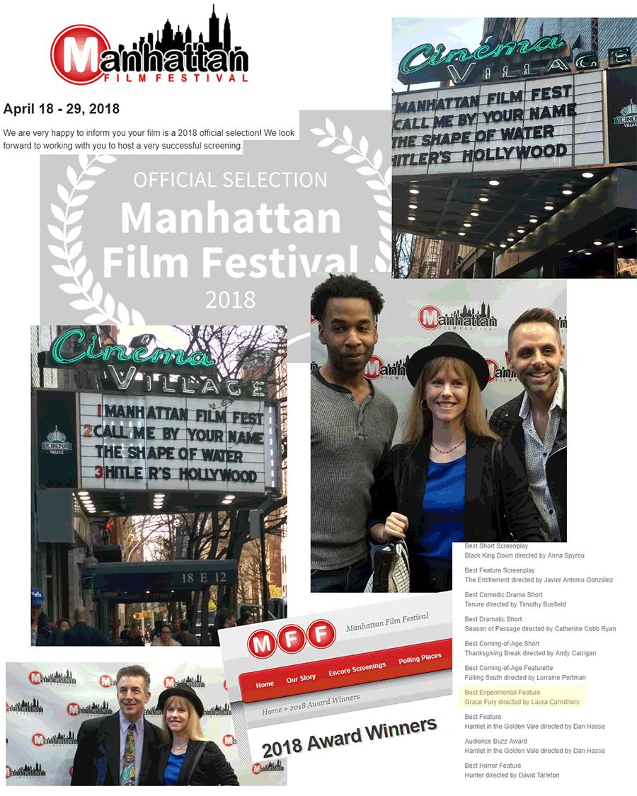 Winner - Manhattan Film Festival Collage