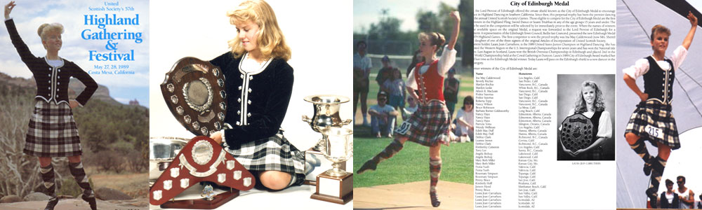 Laura Carruthers - Highland Dance Collage